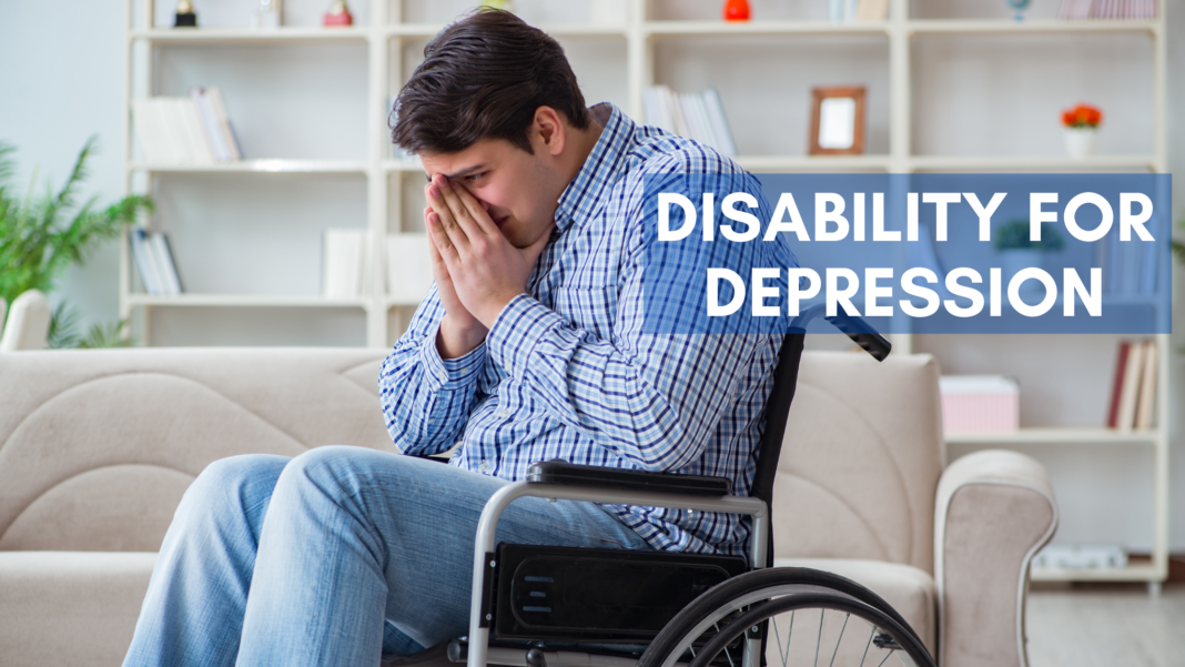 can you get disability for depression